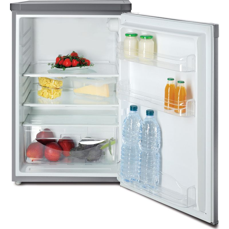 Indesit-Refrigerator-Free-standing-TLAA-10-SI--UK-.1-Silver-Frontal_Open