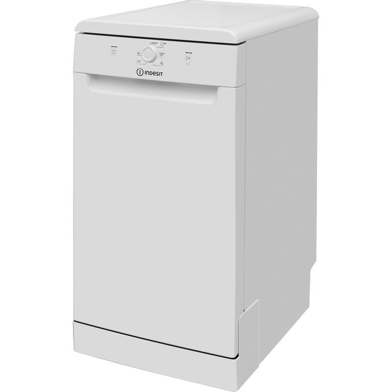 Indesit-Dishwasher-Free-standing-DSFE-1B10-UK-Free-standing-F-Perspective